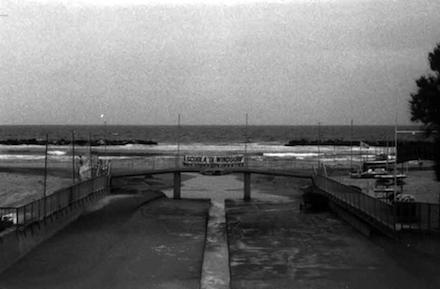 Pesaro, ultimo ponte sul Genica